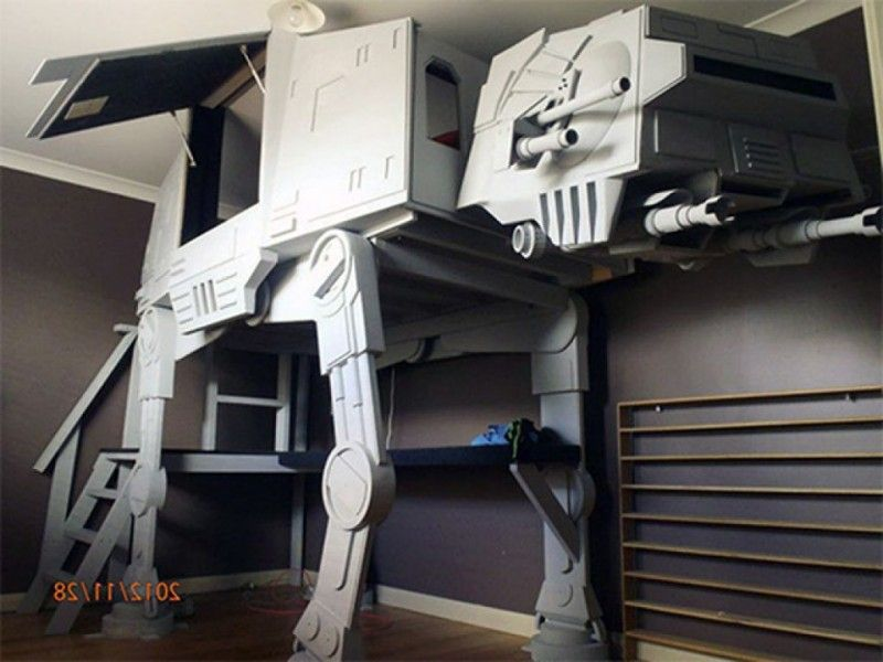 Gut 20 Cool Star Wars Themed Bedroom Ideas | Hochbetten, Zuhause und Ideen PY75