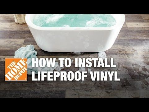 How To Install LifeProof Vinyl Flooring YouTube Home Travel - Vinyl flooring youtube