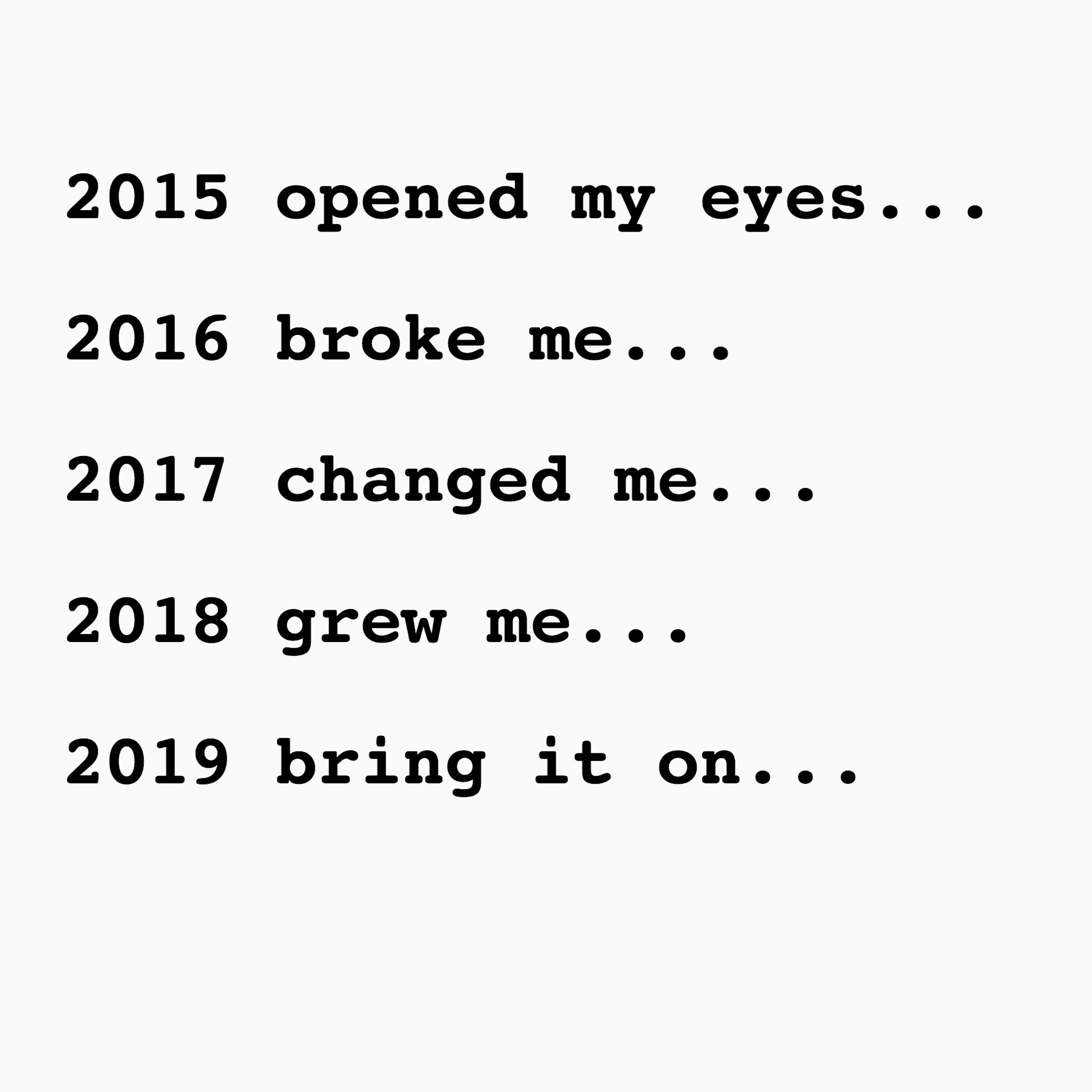 2019 I'm coming for you💪 goals newyear 2019
