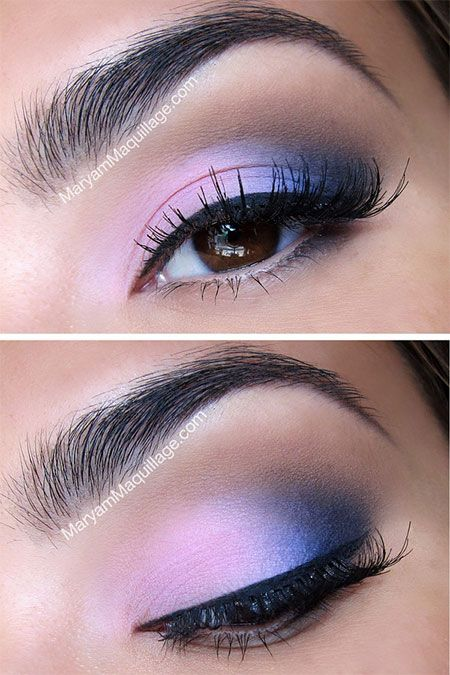 Winter Augen Make-up Trends #makeupgoals