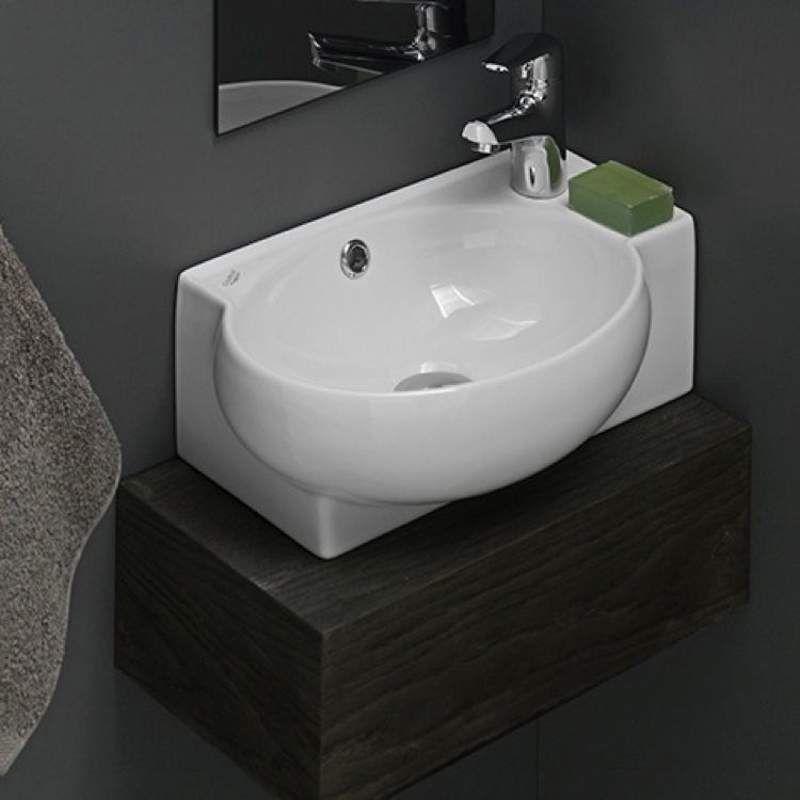 ... Type Corner Sink Self Rimming Sink Wall Mount Sink Style Modern  CeraStyle By Installing Ceramic Bathroom Fixtures Appealing Installing  Ceramic