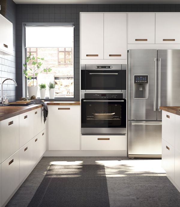 Ikea Kitchen Planner Usa: From Sleek, White Cabinets To Stainless Steel Appliances