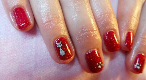 Shellac With Glitter Nail Decals Httpellahaysglitter