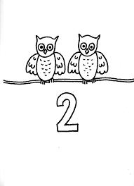 Okul öncesi 2 Sayısı Boyama Sayfası Ile Ilgili Görsel Sonucu 2