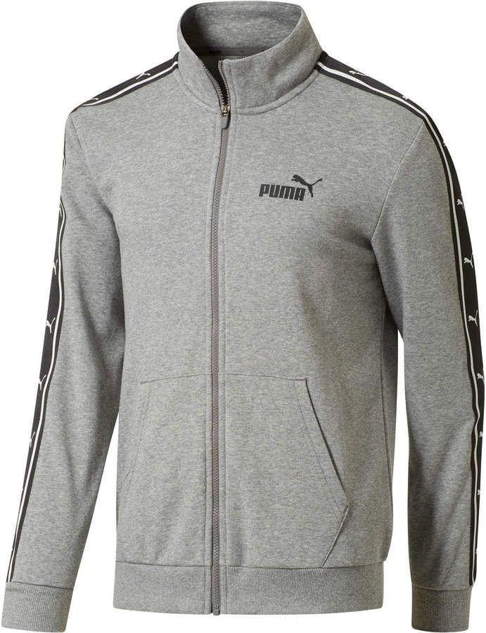 Details zu PUMA Men's Evostripe Track Jacke (Grey Heather, M)