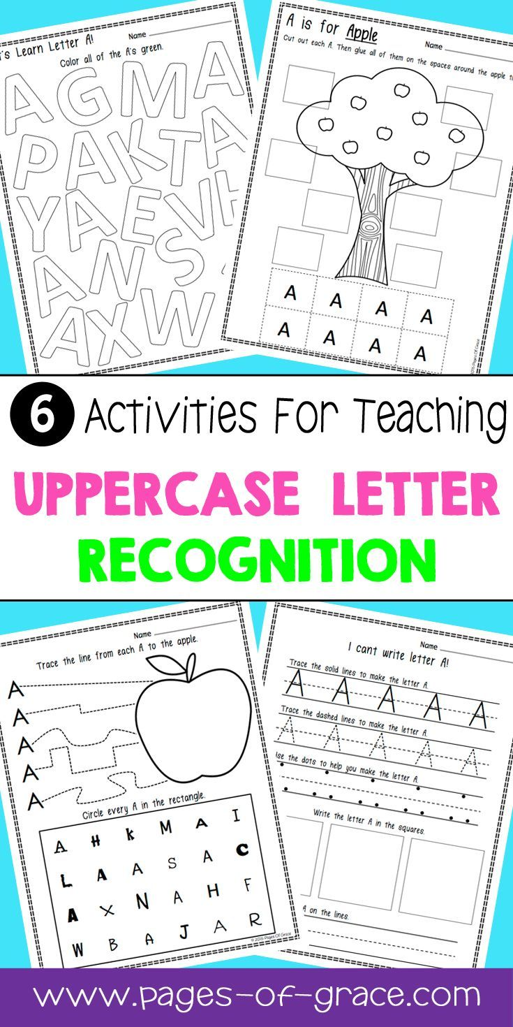 letter recognition uppercase letters kindergarten classroom scaffolding and homeschool. Black Bedroom Furniture Sets. Home Design Ideas
