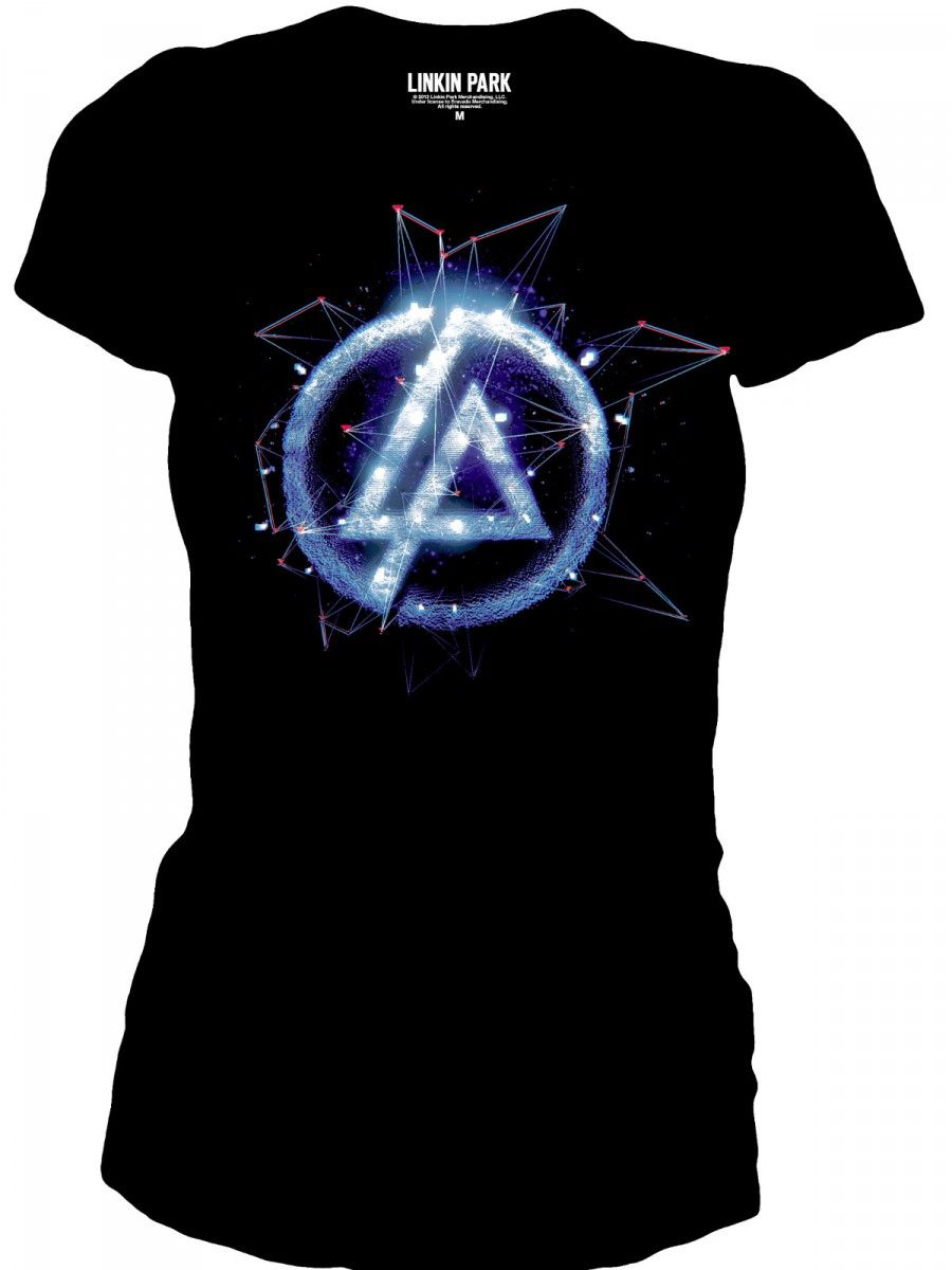 linkin park shirts for women linkin park black round. Black Bedroom Furniture Sets. Home Design Ideas
