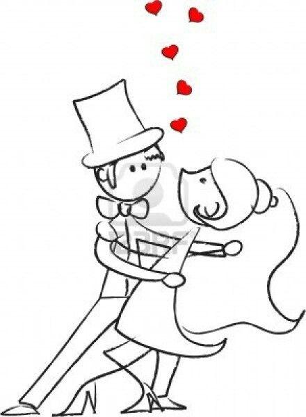 Novios Wedding Pictures Cute Drawings Of Love Wedding Drawing