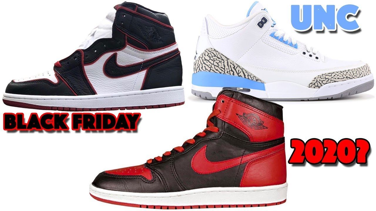 Air Jordan 3 Unc 2020 Jordan 1 Black Friday Jordan 1 Bred And More Air Jordans Jordan 1 Black Jordan 4 Black