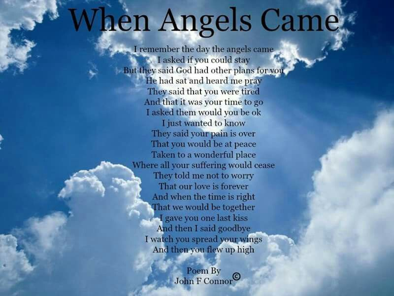 When Angels Came | Happy birthday in heaven, Birthday in ...