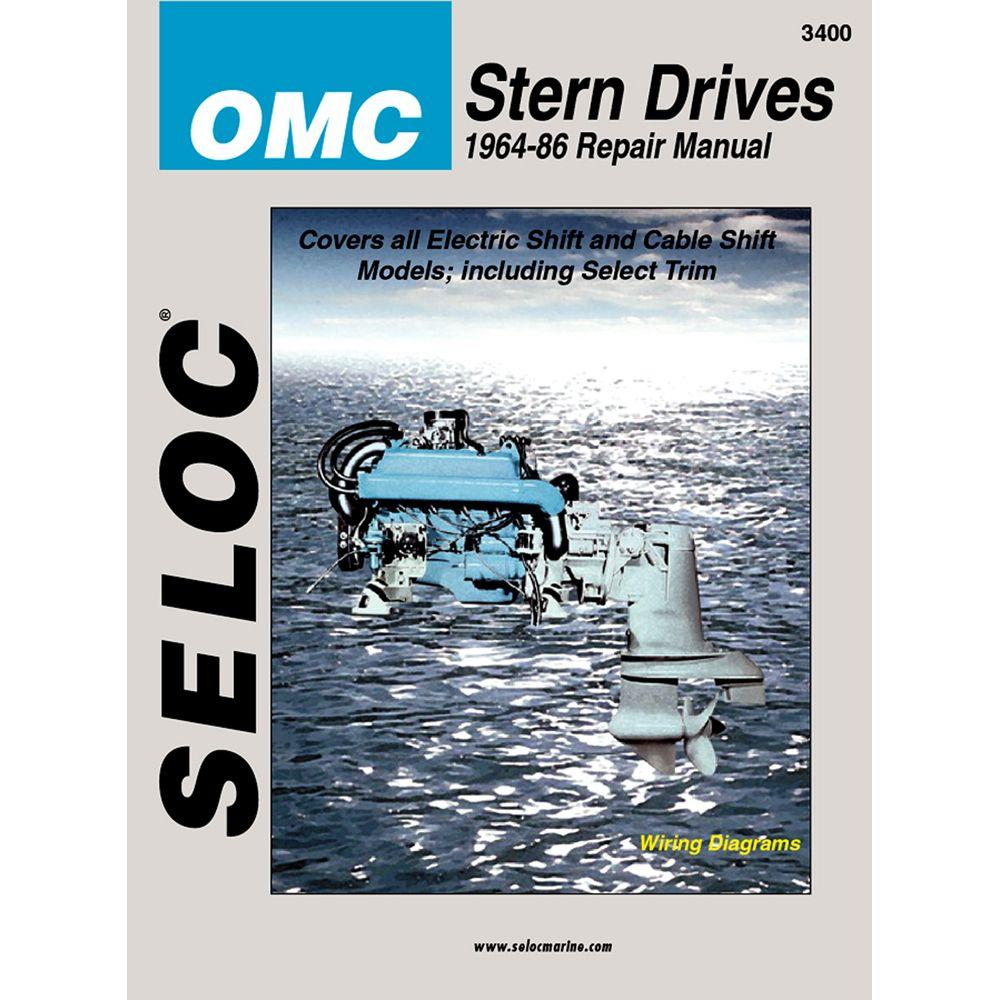 seloc service manual omc stern drive 1964 86 manuals pinterest rh pinterest com