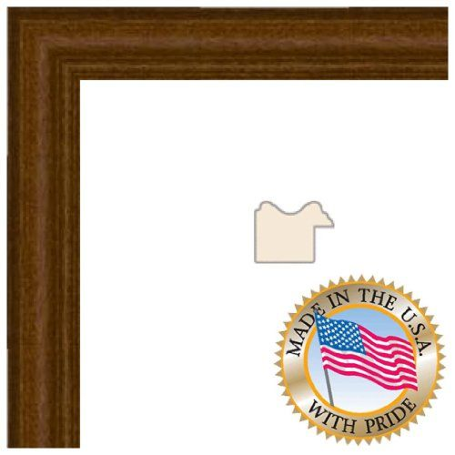 14x20 Honey Stain on Hard Maple Picture Frame - 1\'\' wide with ...