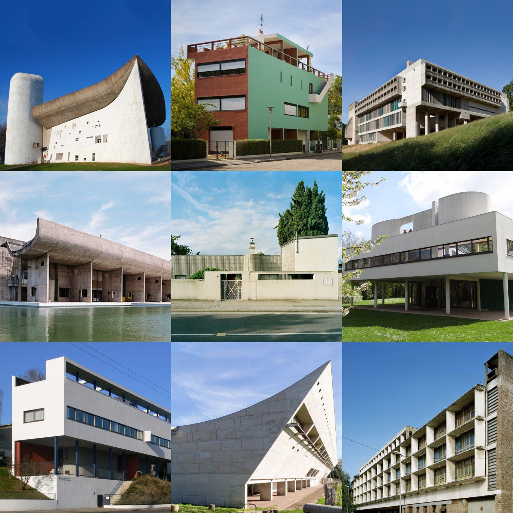 Architecture by Le Corbusier featured on Dezeen