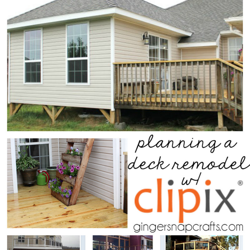 Planning A Deck Remodel With Clipix Deck Remodel Remodel Deck