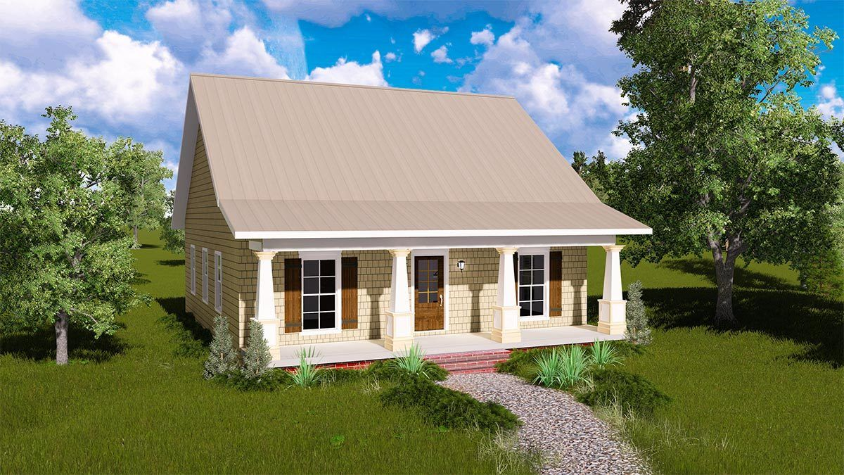 Charming Country Cottage 2591DH Architectural