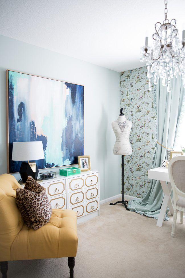 Home Office Tour Mia Mia Mine Home Goods Art Target
