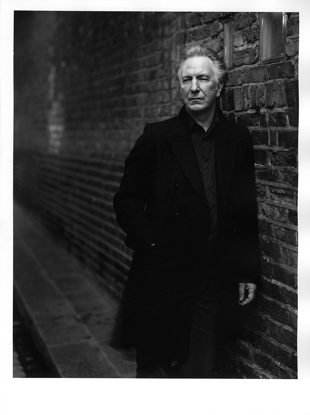 bafta-film: Alan Rickman, pictured for a Past Winners photoshoot ...