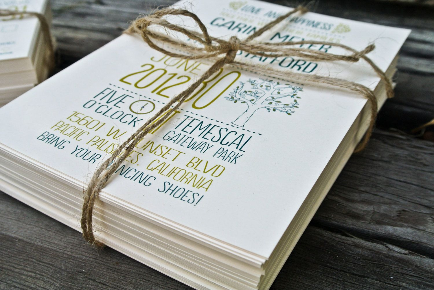 ideas for country wedding invitations%0A Weddng Invitation  Rustic Tree
