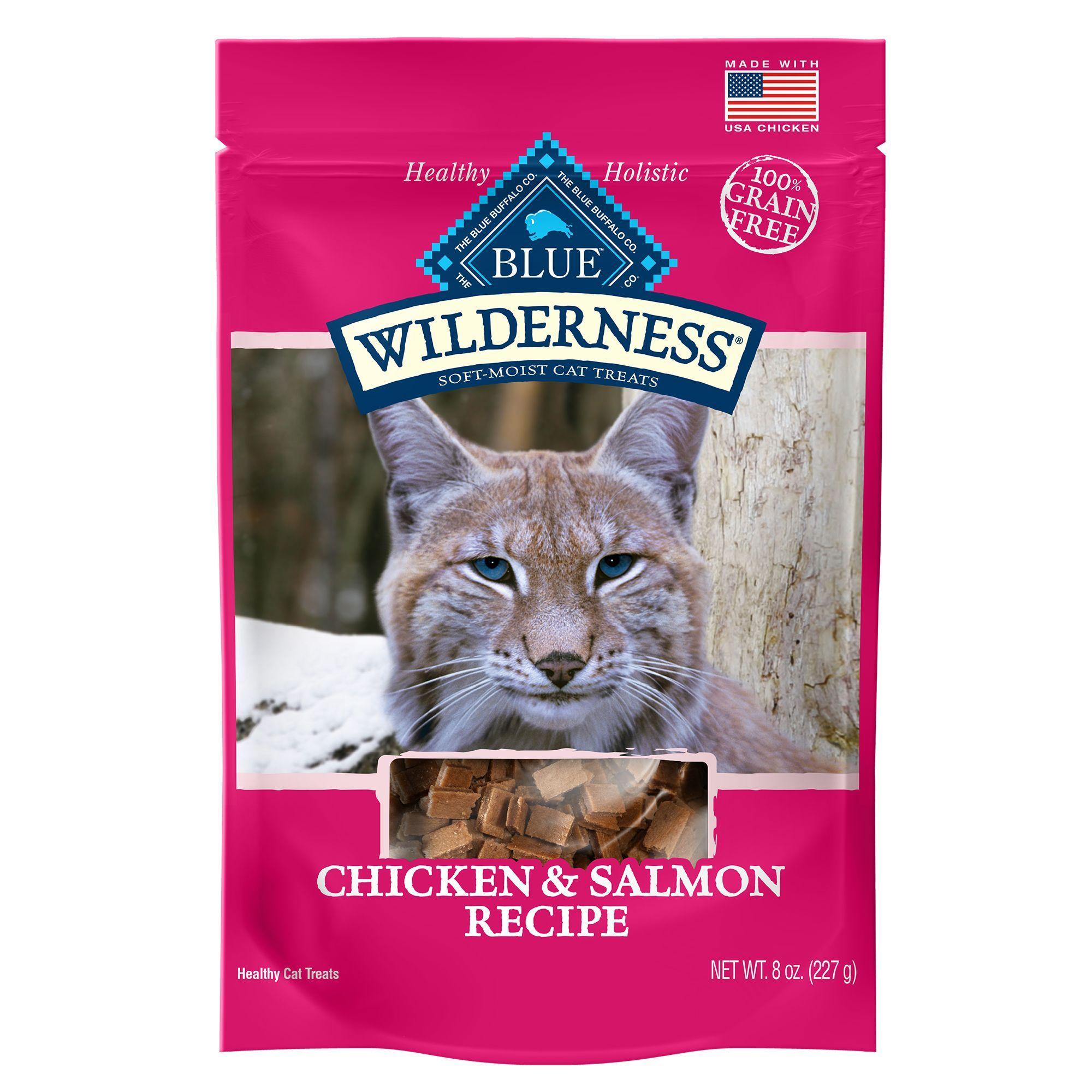 Blue Buffalo Wilderness Cat Treats Natural Grain Free Chicken