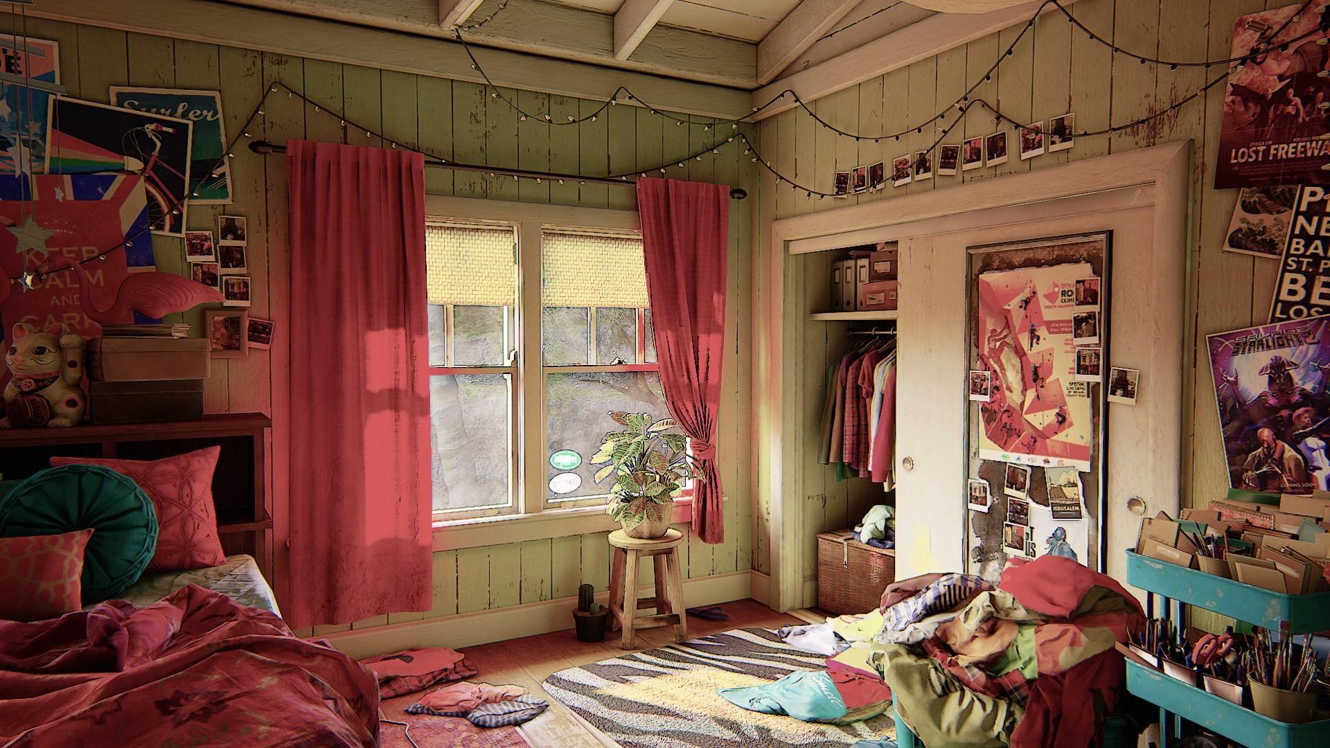 Uncharted bedroom Uncharted bedroom Uncharted
