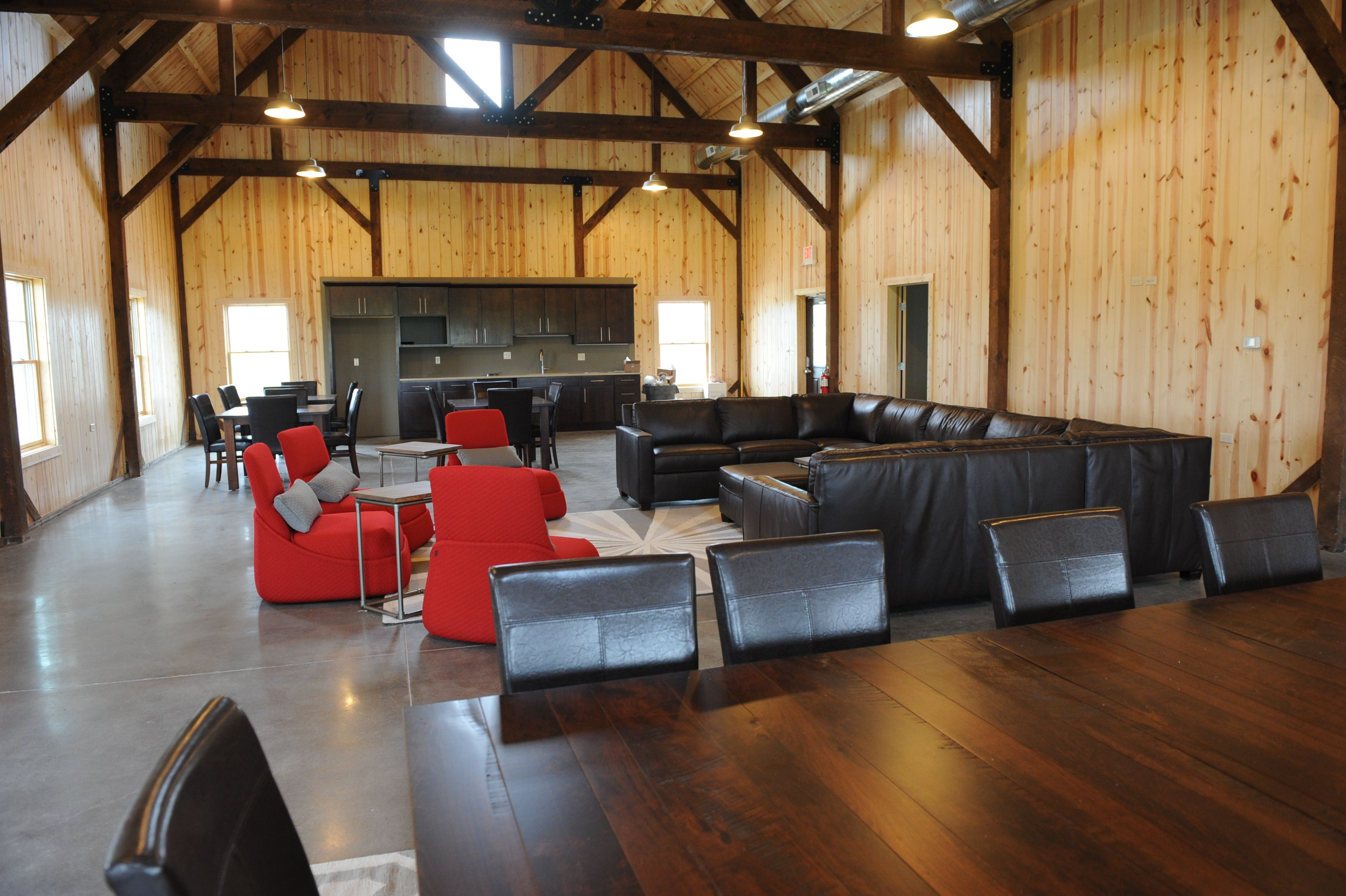 A Look Into The Lounge Area In The New Golf Facility Cyclones Lounge Areas Home Home Decor