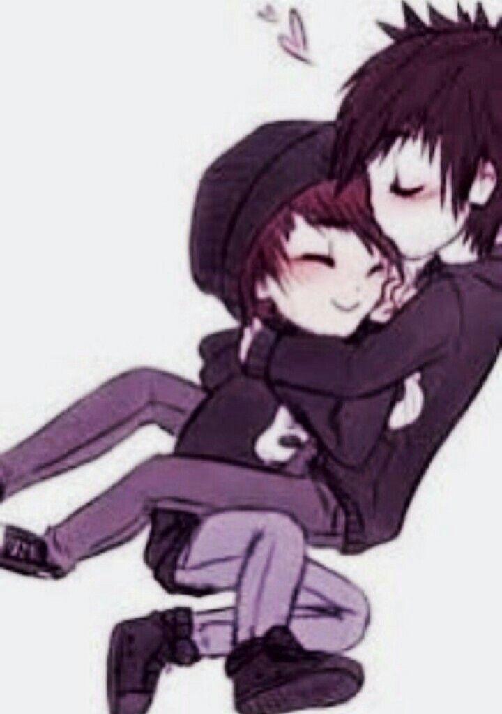 I Love This So Much Cute Emo Couples Emo Art Cute Emo