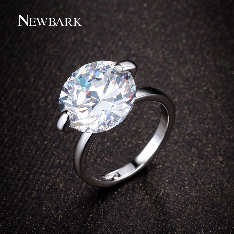 4.64$ Watch here - NEWBARK Big 7 Carat Engagement Rings Round Cut ...