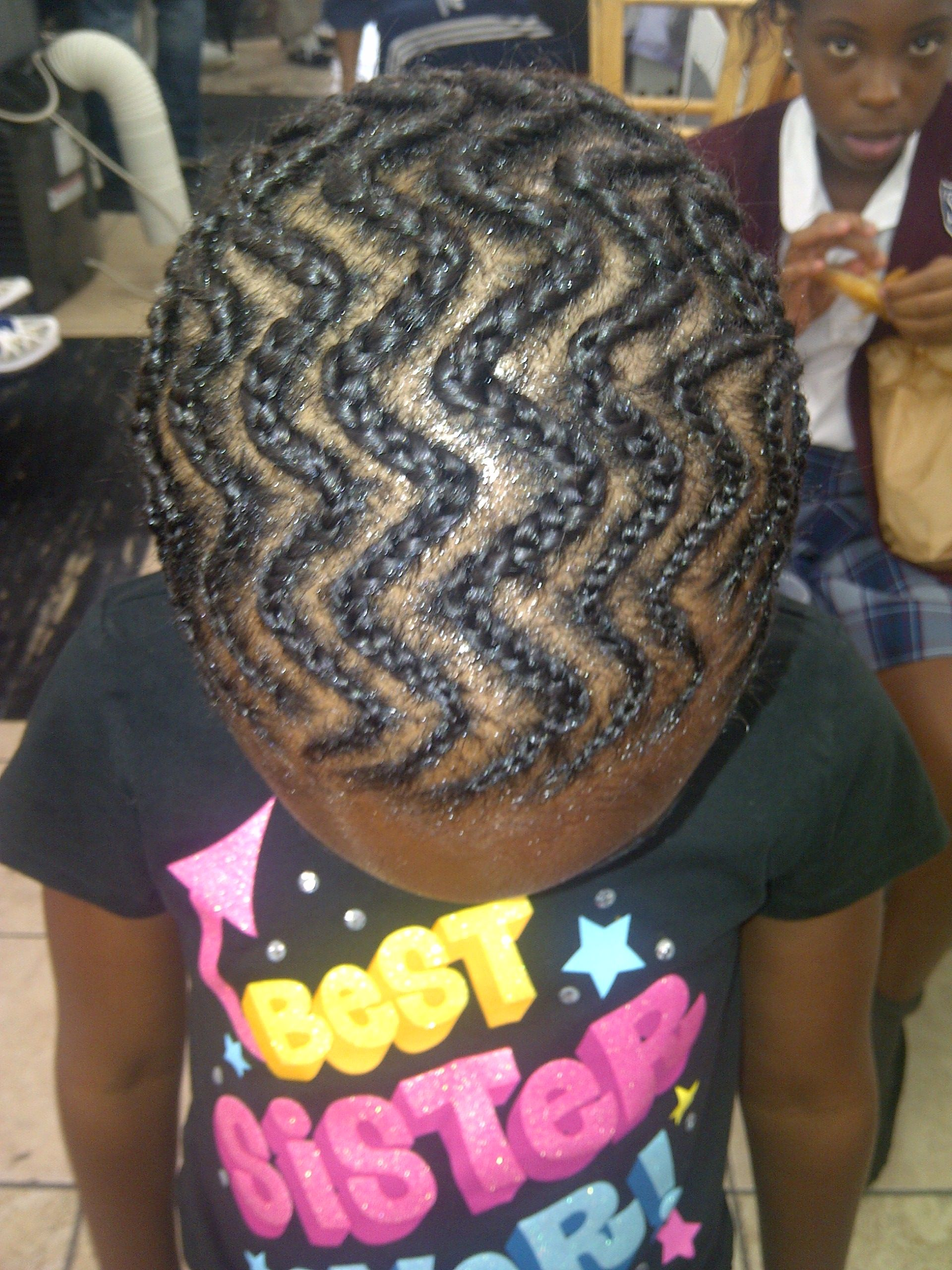 zig-zag cornrows | natural hair styles and designs | pinterest