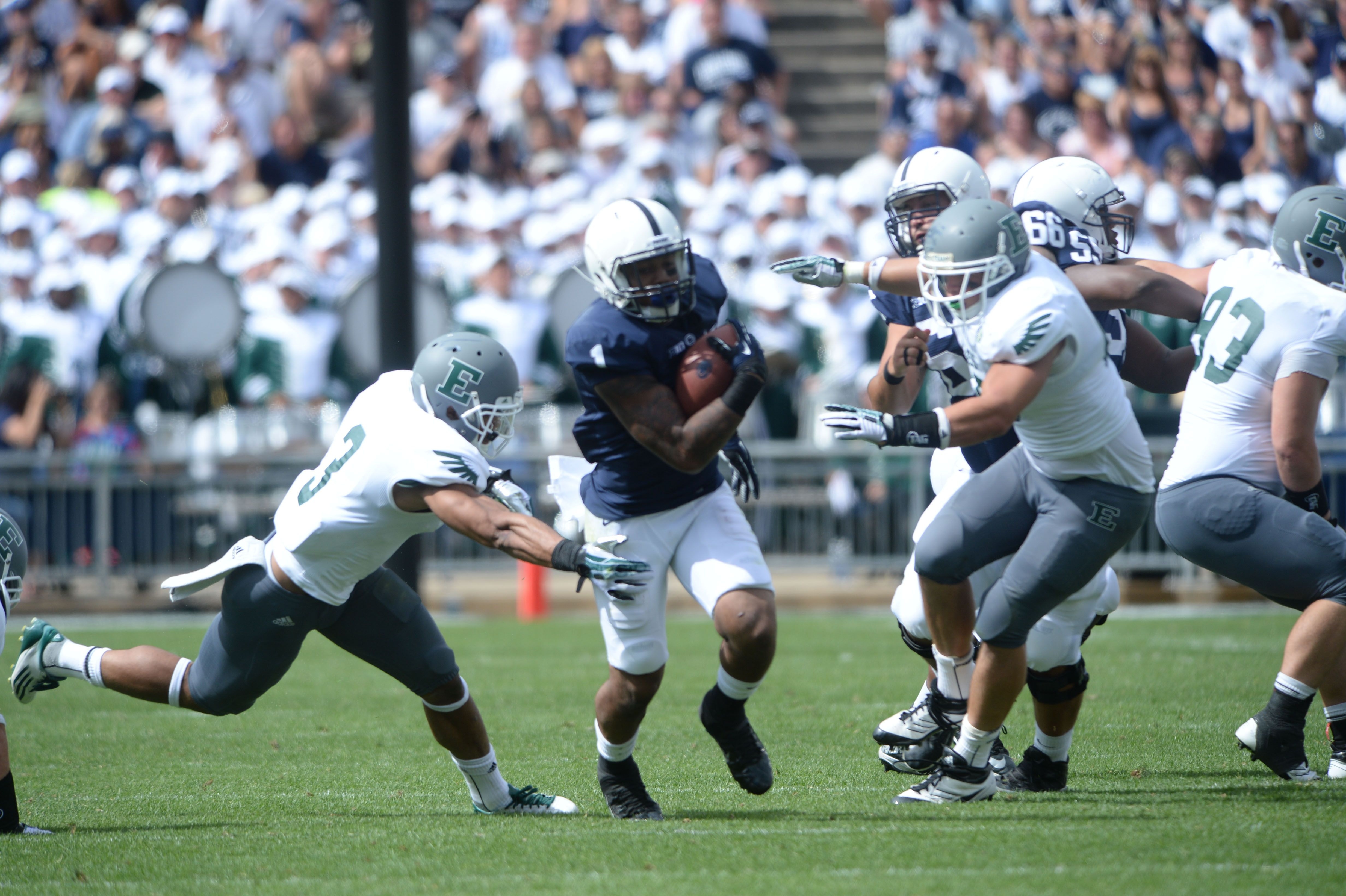 PENN STATE – FOOTBALL 2013 – ERIC SHRIVE (75) and Wendy ...
