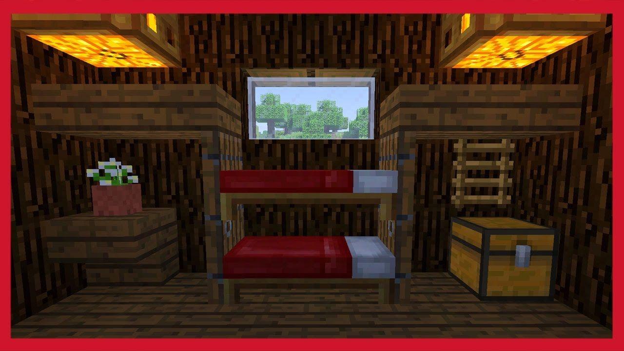 Come Fare Un Letto Su Minecraft : Minecraft: come creare un letto a castello minecraft pinterest