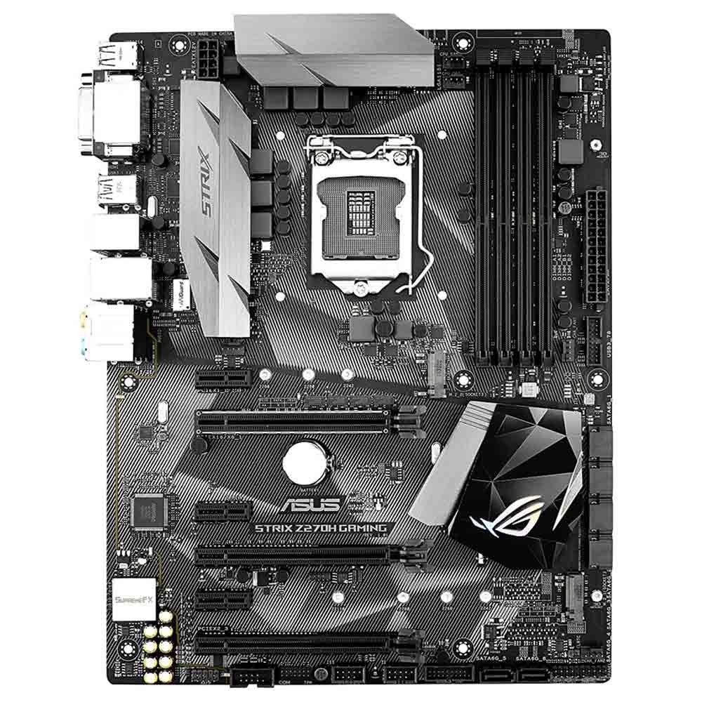 Asus Rog Strix Z270h Gaming Lga1151 Ddr4 Dp Hdmi M 2 Usb 3 1 Atx Motherboard Motherboard Asus Hdmi