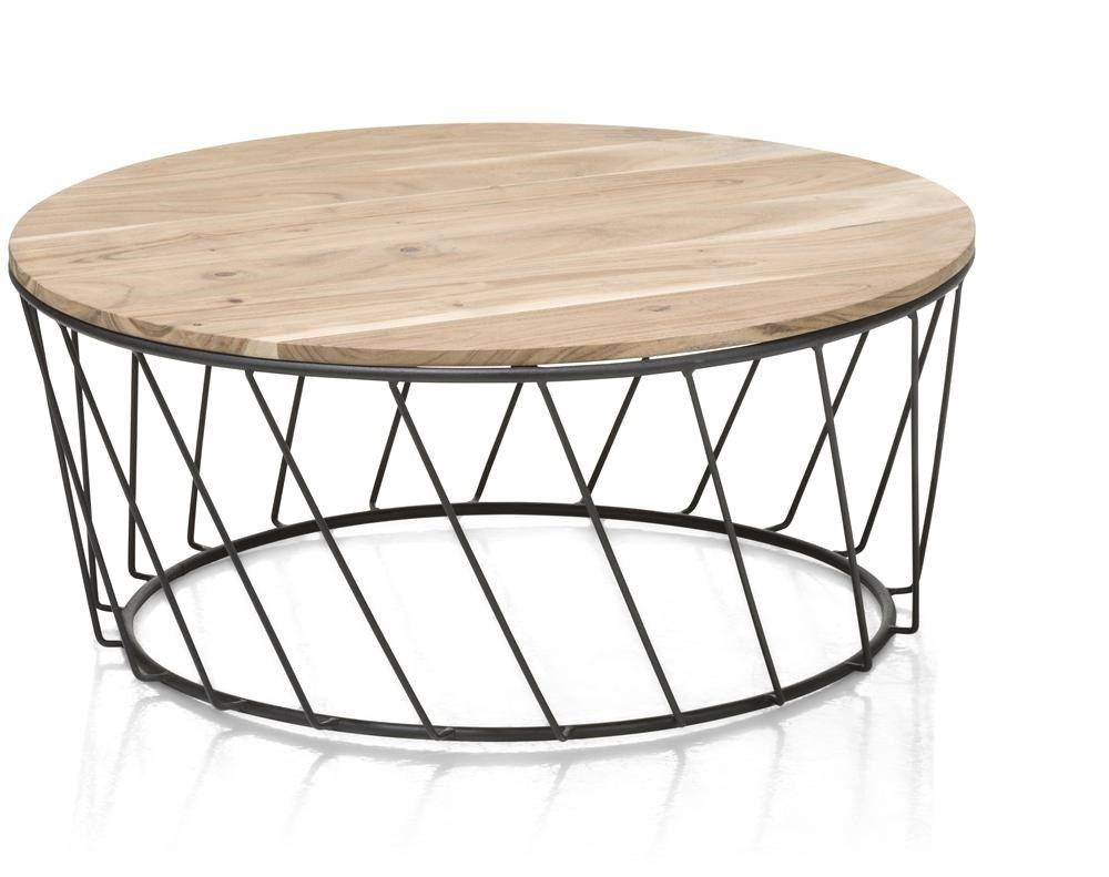 Salontafel Chennai Rond 80 Cm Trendhopper Zaventem 199 Euro Table D Appoint En Bois Table D Appoint Table D Appoint Design
