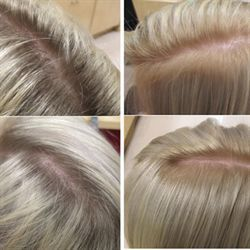 How To Break The Base In Hair Coloring With Formulas Hair Color Formulas Breaking Hair Matrix Hair Color