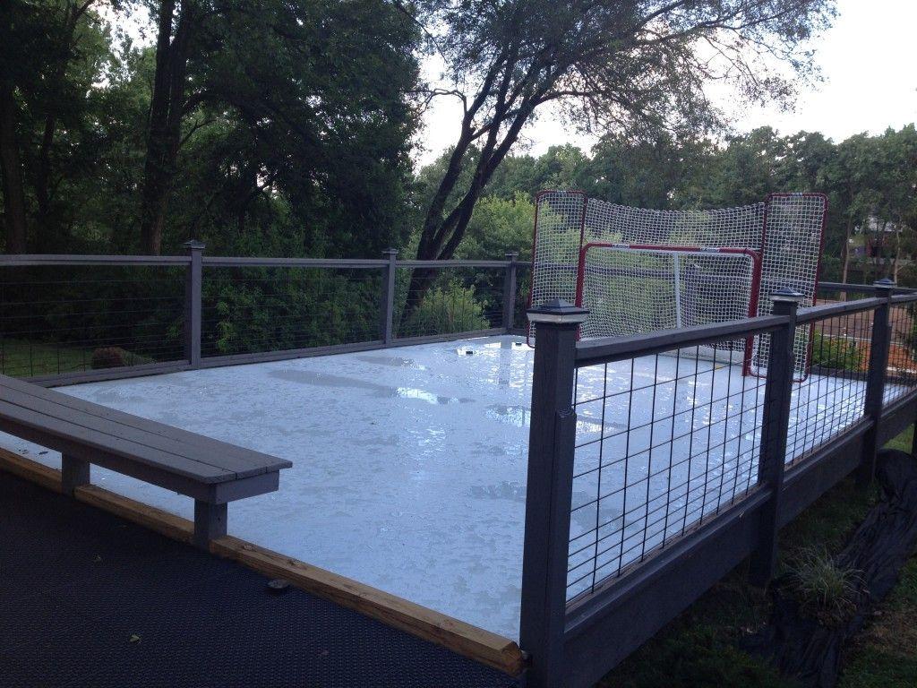 backyard rink in pennsylvania boys hockey rink pinterest