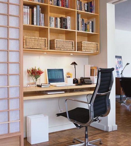 Place for keyboard | For the Home | Pinterest | Small office, Office ...