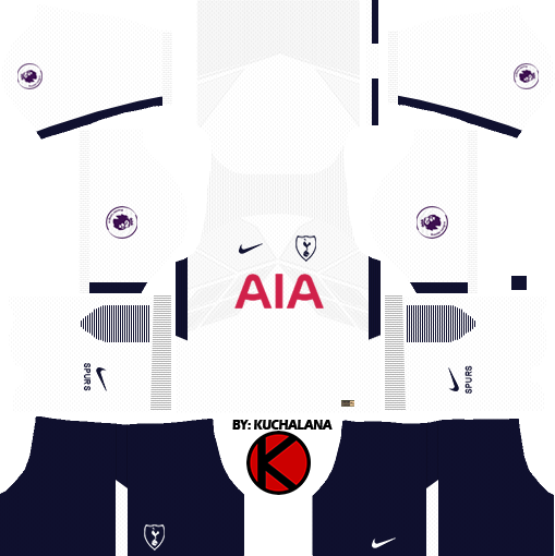 Resultado De Imagen Para Kits Dream League Soccer 2018 Tottenham Hotspur Tottenham France Kit
