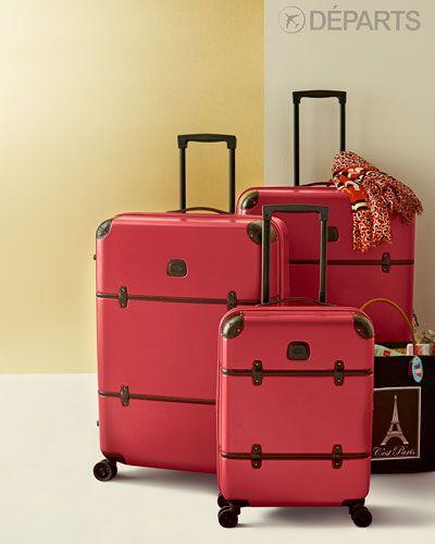Bric's   Bellagio Red Luggage