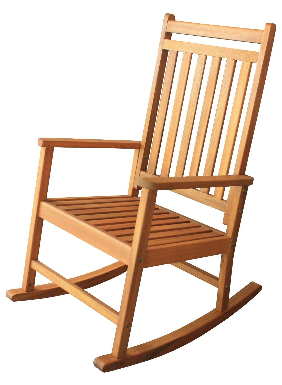Simple Wooden Rocking Chairs