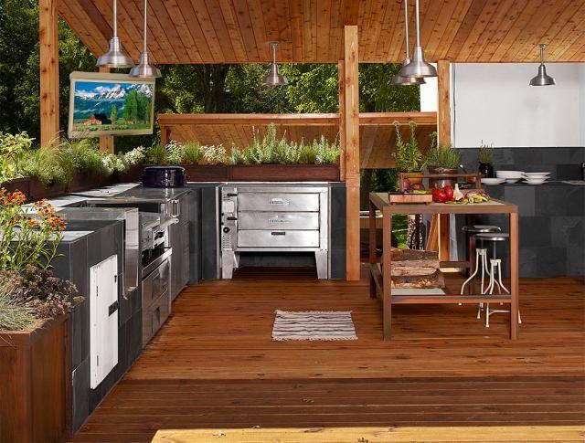 Outdoor Kitchens Designs Under House   Outdoor Kitchen for Different Sensation - Home Design - Home Design