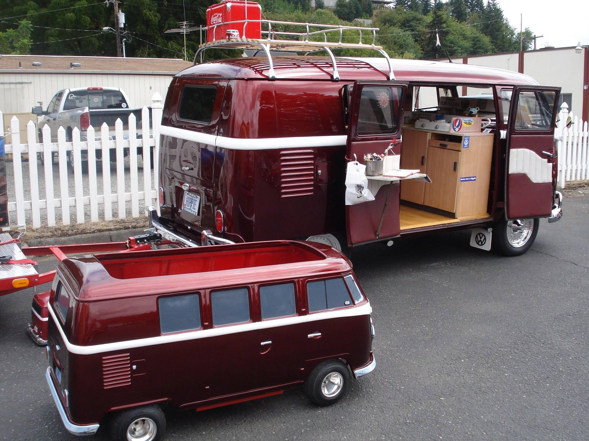We Do Love A Mini Vw Bus But This Combination Is Really Cute More