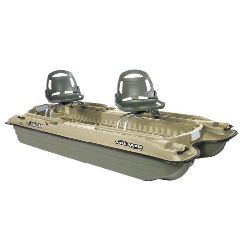 Pelican bass raider 10e 10 39 2 pontoon boat pontoon for Pelican bass raider 10e fishing boat