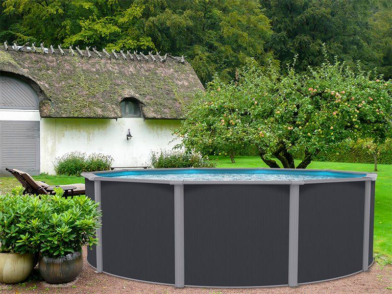 Unsere Edlen Swimmingpools Pacific Mit Breitem Handlauf Alu Wand Und Unschlagbarem Preis Leistungsverhaltnis Runden Ihren Gart Gartenpools Pool Im Garten Pool
