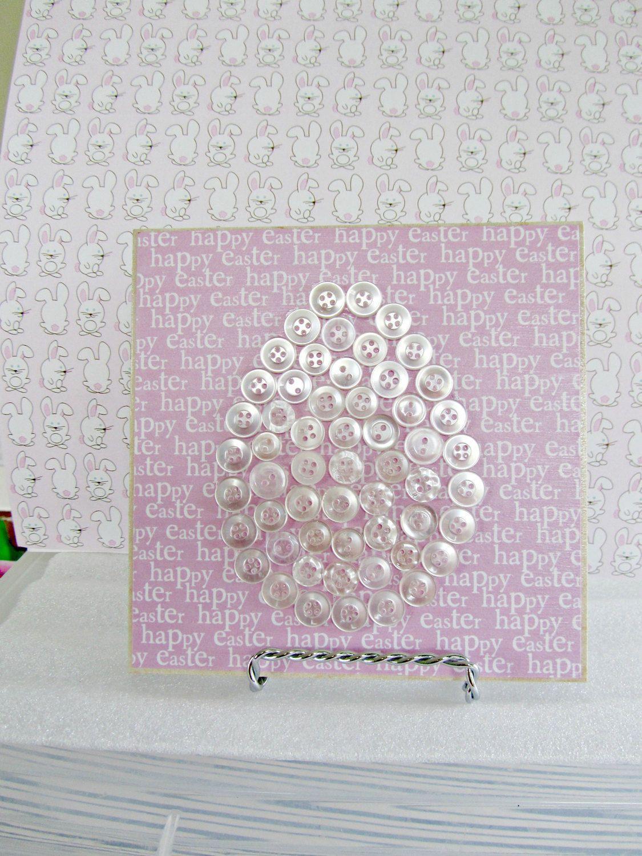 Easter Egg Tile, Home Decor, Decorative Tiles, Easter Decor, Easter Tile, Ceramic Tile, Easter Egg Decor, White Easter Egg, Easter by BrownBeaverBeadery on Etsy