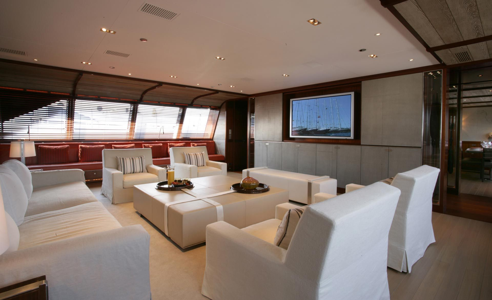 Yacht Rosehearty  Interior Christian Liaigre