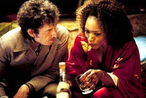 Bob Dylan con Angela Bassett