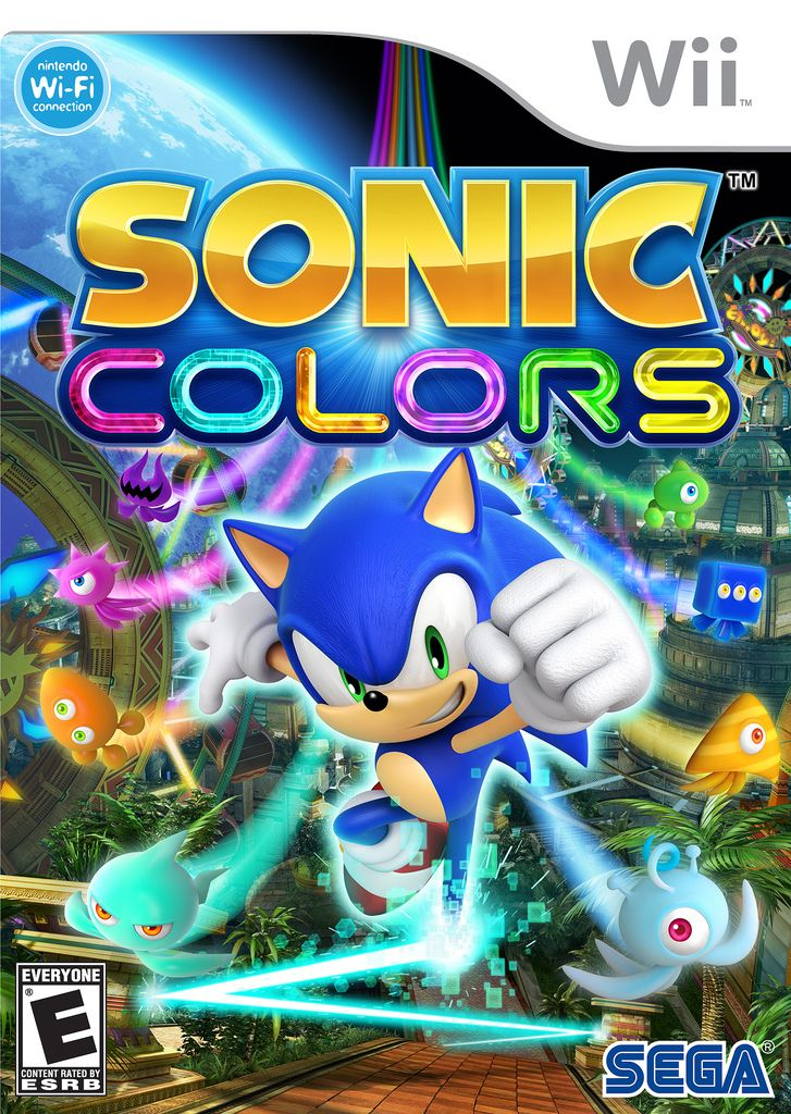 Sonic Colors On Nintendo Wii Avaliable Now Sonic Wii Games