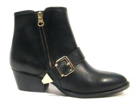 diseño de calidad gran descuento mirada detallada Botines para mujer Alpe Active hebilla dorada | Zapatos ...