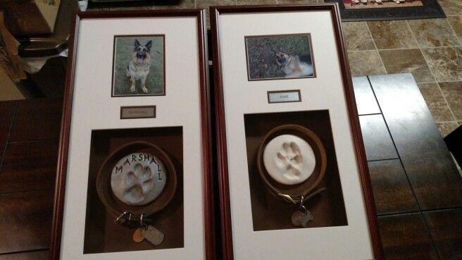 Dog Memorial Shadow Box Custom Made At Hobby Lobby Home Decor Decor Dog Memorial