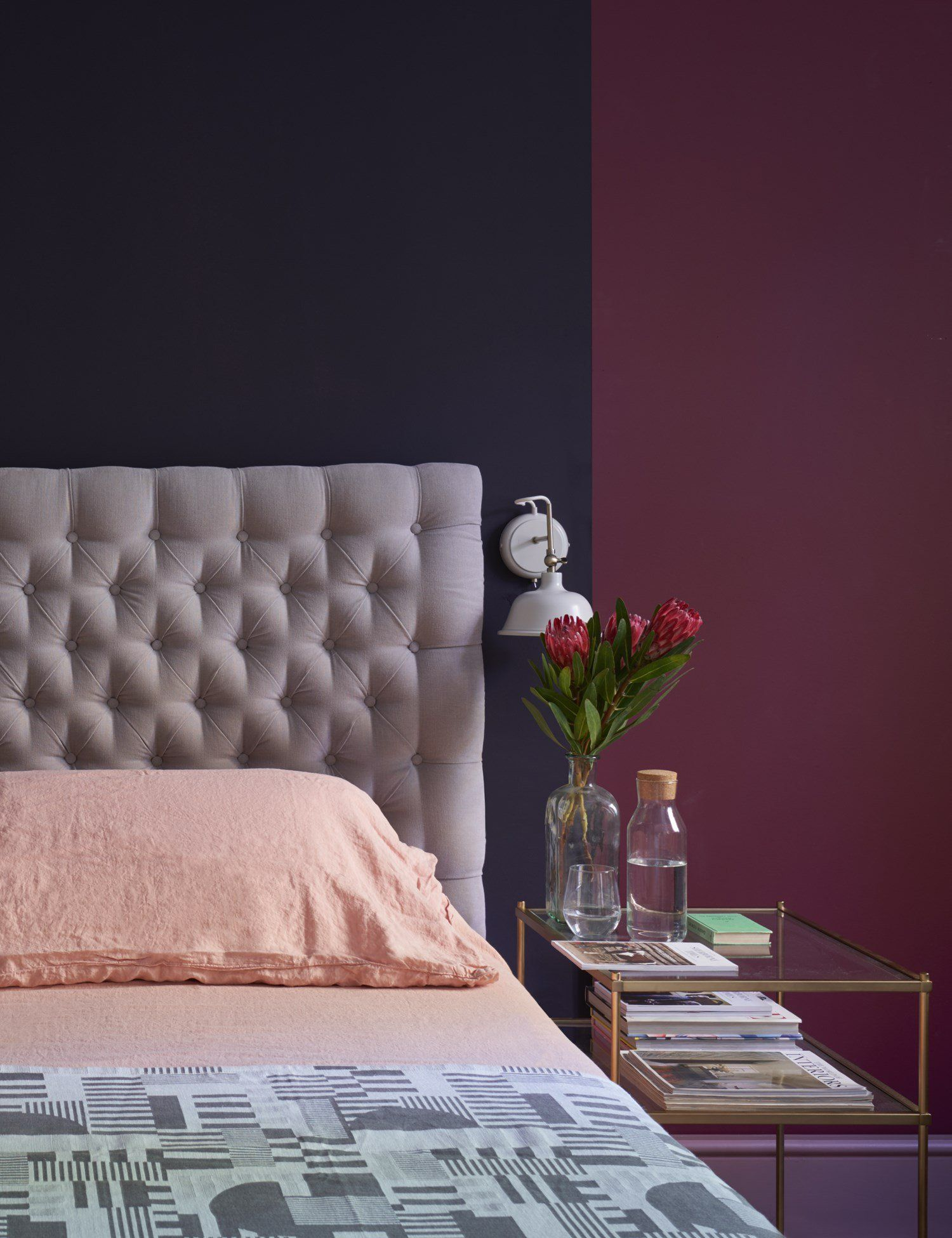 Farrow And Ball Bordeaux how to give your bedroom a cosy and cocooning feeling