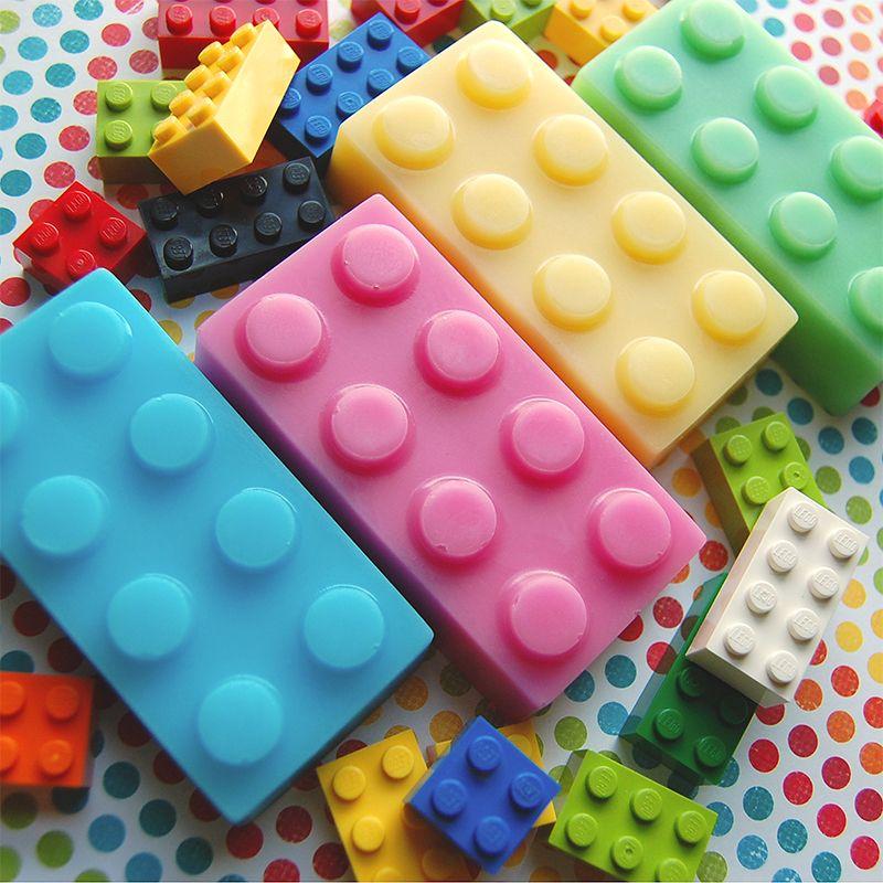 Building Block Soap Set By Http://luxurylanesoap.bigcartel
